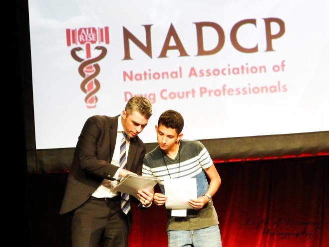 Alex Montoya & NADCP's Director of Communications