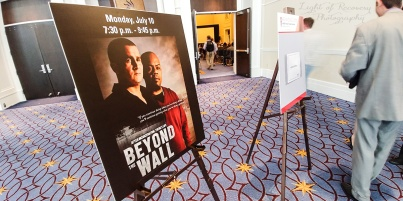 MSRF at the screening of Beyond the Wall documentary at the National Harbor in Maryland