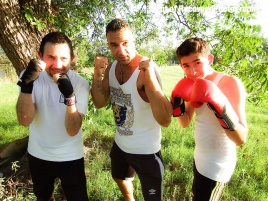 Training with Robert Vega, Jr.